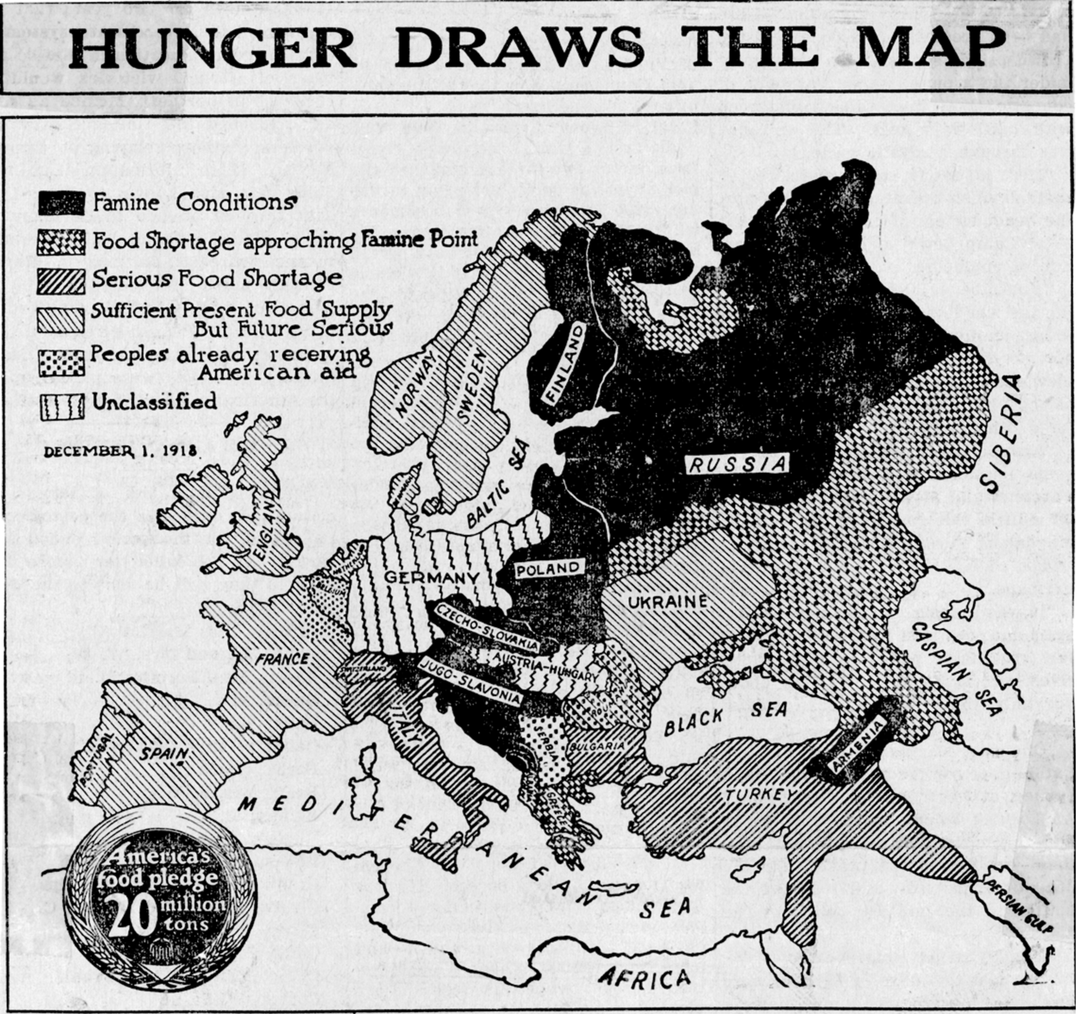 Image of Hunger Draws the Map via The Hoover Institution, Stanford